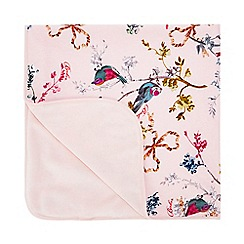 Baker by Ted Baker - Baby Girls' Pink Bird Print Blanket