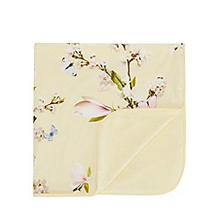 Baker by Ted Baker - Baby Girls' Light Yellow 'Harmony' Blanket