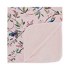 Baker by Ted Baker - Baby Girls' Pink Bird Print Blanket