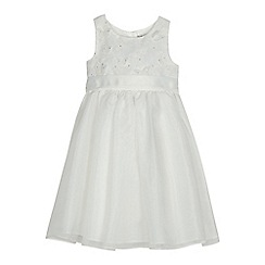 RJR.John Rocha - Girls' ivory butterfly applique dress