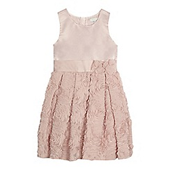 RJR.John Rocha - Girls' pink ruffle dress