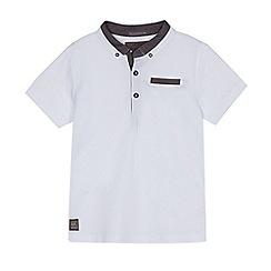 RJR.John Rocha - Boys' white chambray trim polo shirt