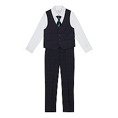 RJR.John Rocha - Boys' black tank top, shirt and trousers set