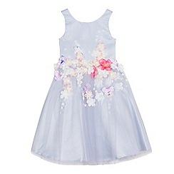 RJR.John Rocha - Girls' lilac floral applique dress
