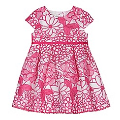 RJR.John Rocha - Baby girls' pink floral lace dress