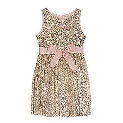 RJR.John Rocha - Girls' gold sequin dress