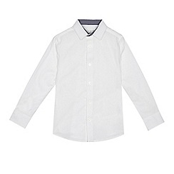 RJR.John Rocha - Boys' white textured shirt