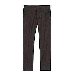 RJR.John Rocha - 'Boys' dark grey textured wool blend trousers