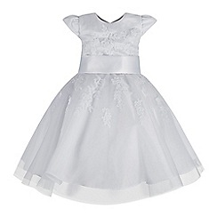 RJR.John Rocha - Baby girls' white floral lace dress