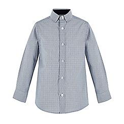 RJR.John Rocha - Boys' blue striped long sleeve shirt