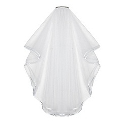RJR.John Rocha - Girls' white diamante veil