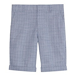 RJR.John Rocha - 'Boys' blue checked shorts