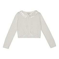 RJR.John Rocha - 'Girls' ivory long sleeve cardigan