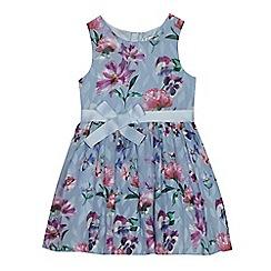 RJR.John Rocha - Girls' lilac floral burnout prom dress