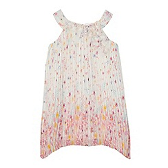 RJR.John Rocha - 'Girls' multi-coloured floral print dress