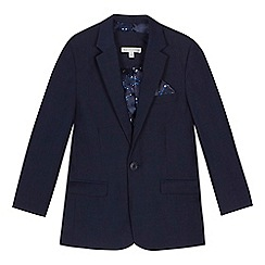 RJR.John Rocha - 'Boys' navy birdseye blazer