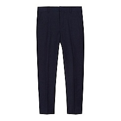 RJR.John Rocha - 'Boys' navy birdseye slim fit trousers