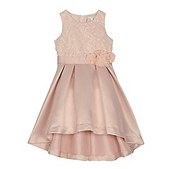 RJR.John Rocha - Girls' pink embellished dress