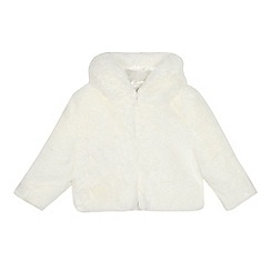 RJR.John Rocha - Kids' cream faux fur coat