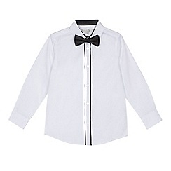 RJR.John Rocha - Boys' white shirt and bow tie set