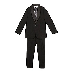 RJR.John Rocha - Boys' black headphone print lined tuxedo