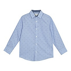 RJR.John Rocha - 'Boys' pale blue printed shirt