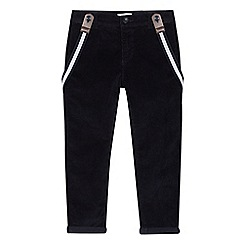 RJR.John Rocha - Kids' navy corduroy trousers with braces