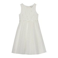 RJR.John Rocha - 'Girls' ivory lace dress