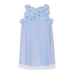 RJR.John Rocha - 'Girls' light blue floral embellished dress
