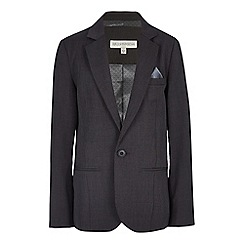 RJR.John Rocha - Designer boy's grey pin dot jacket