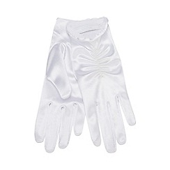 Occasions - Girls' White Gloves