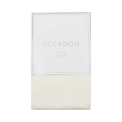 Occasions - Girls' Ivory Tights