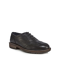 RJR.John Rocha - Boys' black leather brogues