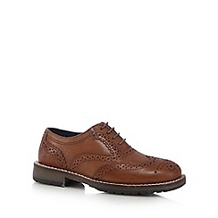 RJR.John Rocha - Boys' tan leather brogues