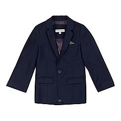 RJR.John Rocha - Boys' navy birdseye suit jacket