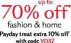 Debenhams UK - Fashion, Beauty, Gifts, Furniture & Electricals