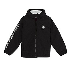 U.S. Polo Assn. - Boys' black jacket