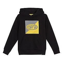 Animal - Boys' black logo print hoodie