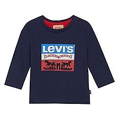 Levi's - Baby boys' navy logo print t-shirt
