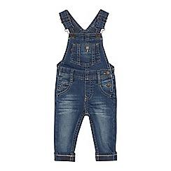 Levi's - Babies' blue denim dungarees