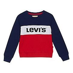 Levi's - Girls' multicoloured logo sweatshirt