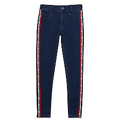 Levi's - Girls' blue logo '710' super skinny jeans