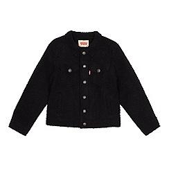 Levi's - Kids' black borg jacket
