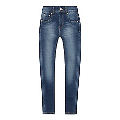 Levi's - Kids' black mid wash '510' skinny fit jeans