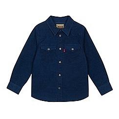 Levi's - Boys' blue cord shirt