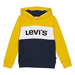 Levi's - Kids' yellow colour block sweater