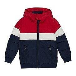 Levi's - Kids' navy colour block padded coat
