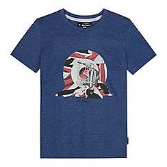 Ben Sherman - Kids' blue target print t-shirt