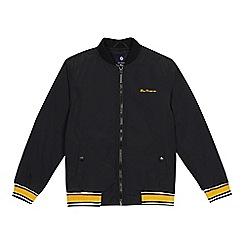 Ben Sherman - Boys' black bomber jacket
