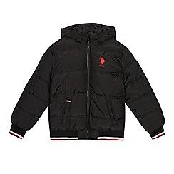 U.S. Polo Assn. - Boys' black padded coat